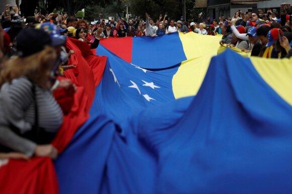 Protestai Venesueloje