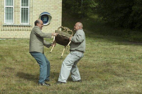 """Kadras iš filmo """"12 kėdžių"""""""
