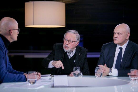 Edmundas Jakilaitis, Vytautas Landsbergis ir Kęstutis Betingis