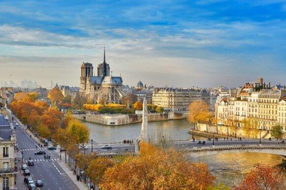 Ruduo – puikiausias metas aplankyti Paryžių