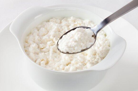 Varškės apkepas iš trijų ingredientų