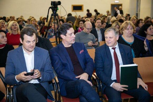 Gintautas Paluckas, Vytautas Juozapaitis, Edmundas Pupinis