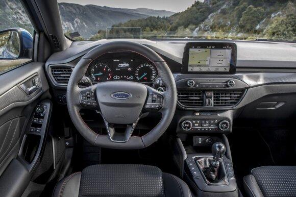 """Ford Focus"" bandymai"