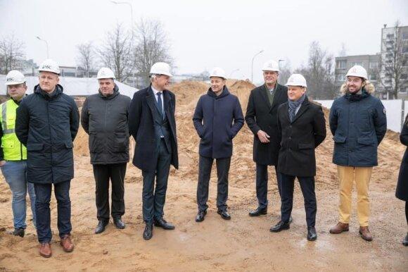 (iš dešinės) Adomas Bužinskas, Valdas Benkunskas, Linas Kvedaravičius, Rolandas Jarutis, Remigijus Šimašius, Vytenis Tupčiauskas
