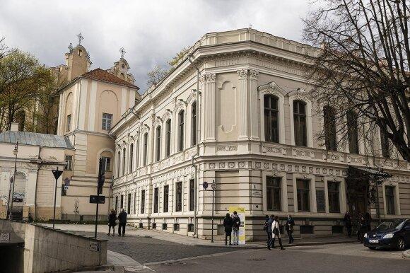 The Writers Union in  Vilnius     Photo © Ludo Segers @ The Lithuania Tribune