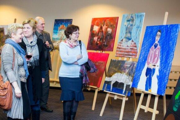 Tarptautinio dailininkų plenero uždarymas