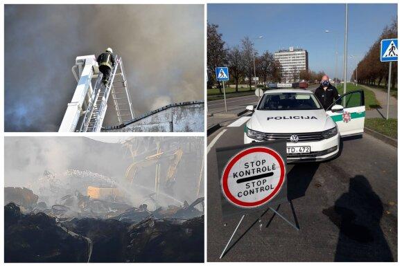 Alytiškis pragarišką gaisrą matė nuo pat pradžios ir viską užfiksavo telefonu: vaizdai siaubingi