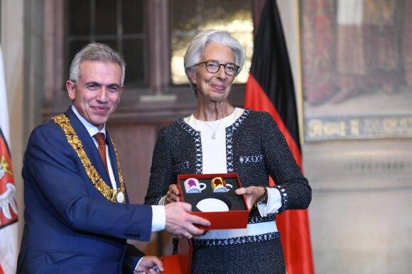 Christina Lagarde su su Peteriu Feldmannu