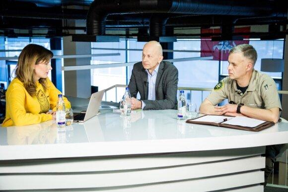 DELFI konferencijoje  Vilmantas Graičiūnas ir Justinas Jurčiukonis