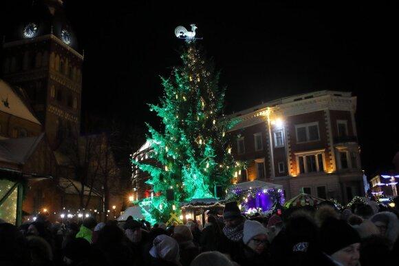 Įspūdinga Kalėdų eglė suspindo ne tik Vilniuje: štai taip atrodo gražiausios eglutės Europos sostinėse