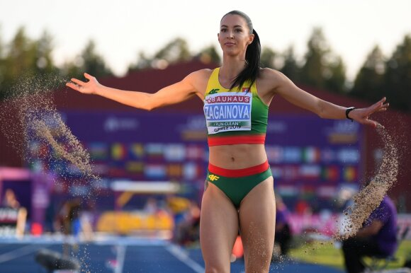 Diana Zagainova / Foto: European Athletics via Getty Images