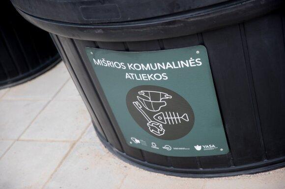 Svarbi žinia vilniečiams – pasidomėkite, kur bus jūsų atliekų surinkimo konteineriai