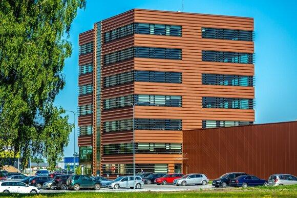 Naujas biurų pastatas Kauno LEZ