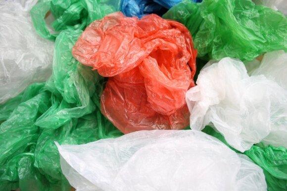 Plastiko pakuotės