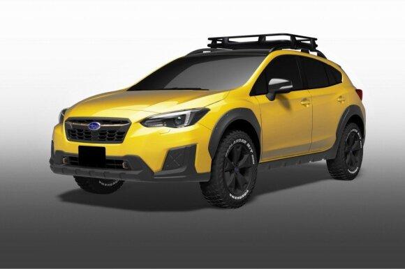 Subaru naujovės