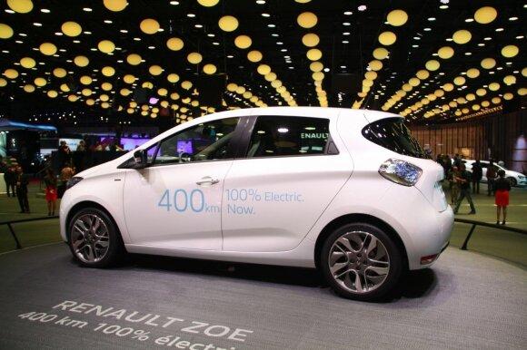 """""""Renault Zoe"""" gali įveikti iki 400 km"""