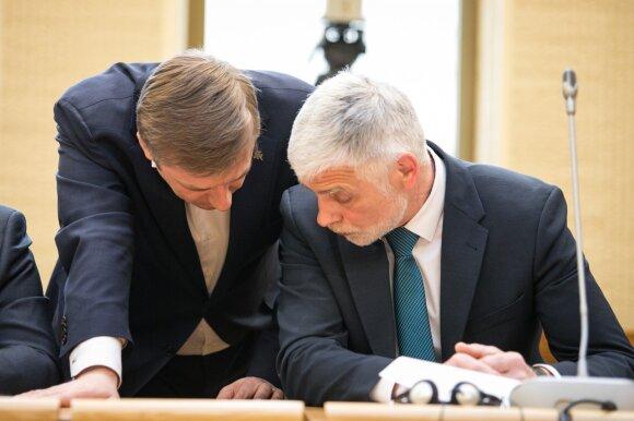 Ramūnas Karbauskis ir Bronius Markauskas