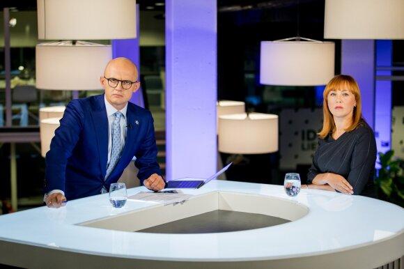 Edmundas Jakilaitis ir Jurgita Petrauskienė