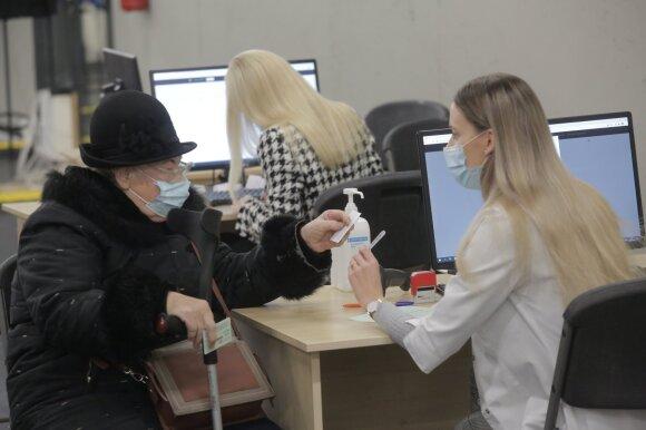 Kauno Ledo rūmuose pradėjo veikti vakcinavimo centras