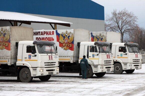 Humanitarinis konvojus iš Rusijos