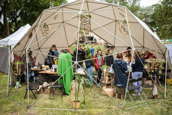Zero waste festivalio akimirkos