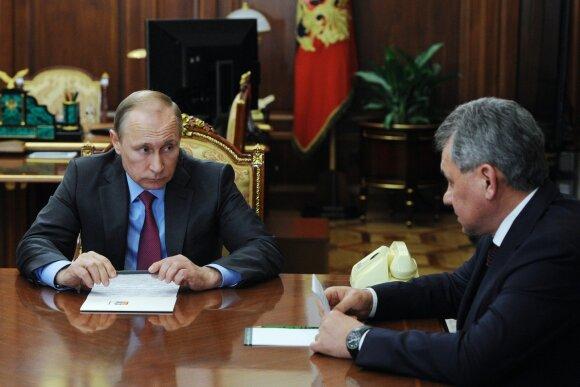 Vladimiras Putinas, Sergejus Šoigu