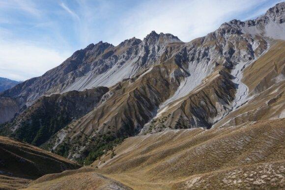 Žygis Šveicarijos nacionaliniame parke