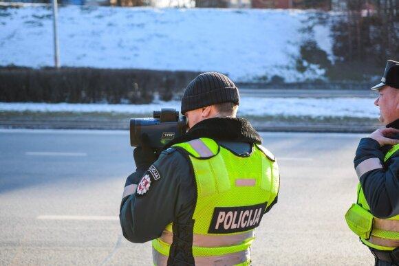 Viename Lietuvos mieste vairuotojai pasižymėjo: greičio radaras blyksėjo beveik 17 tūkstančių kartų