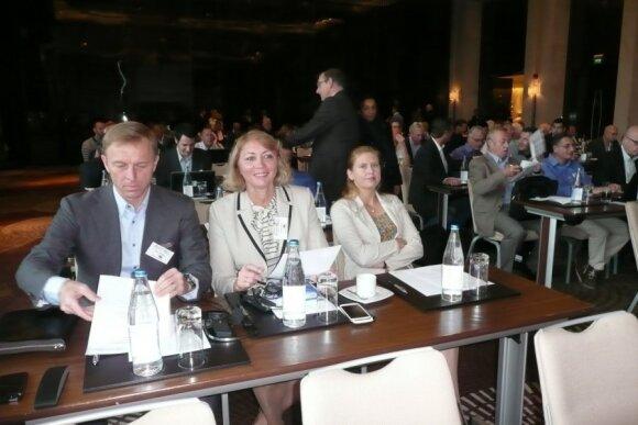 Eimantas Skrabulis ir Nijolė Medvedeva (LLAF nuotr.)