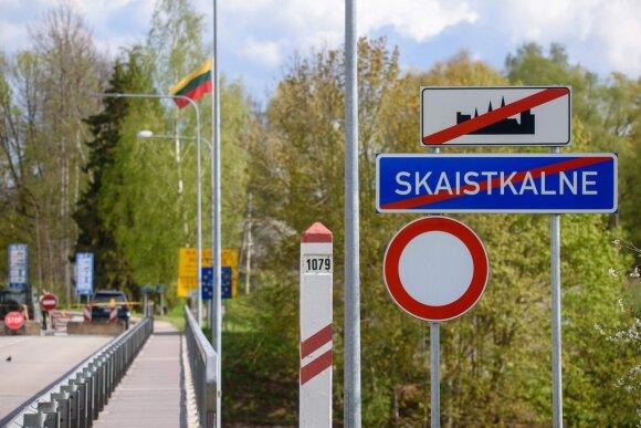 Latvijos-Lietuvos pasienis