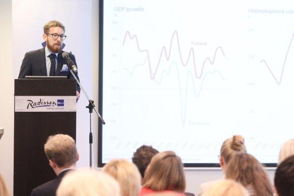 Lenkijos organizacijos FOR ekonomistas Rafalis Trzeciakowskis (nuotr. Martyno Ambrazo)