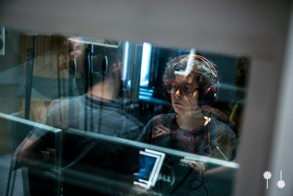 NYLA tinklalaidė: garso režisierė Kata Bitowt (nuotr.M. Drigotas