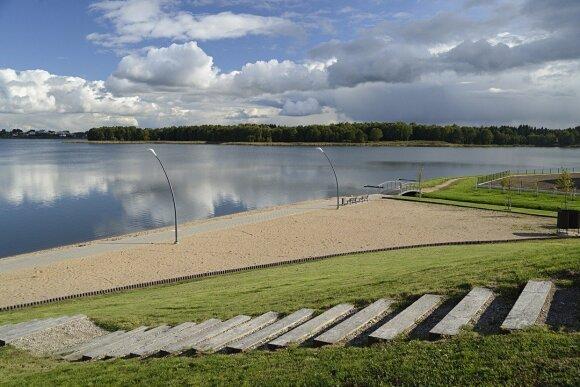 Už ES lėšas išvalytas Masčio ežeras