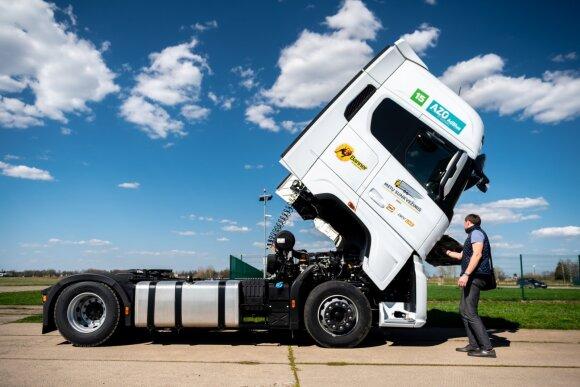 Įvertino, kaip pasikeitė sunkvežimiai: vienas senas teršia tiek, kiek 50 modernių