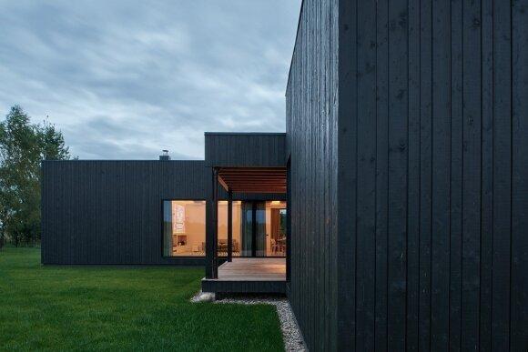 House in Pilaitė / Picture: Darius Petrulaitis