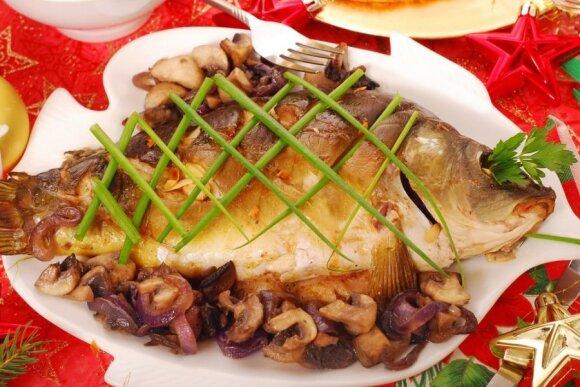 Kaip maitintis žiemą: vitamino D šaltinis – žuvys