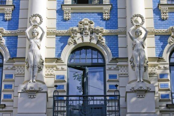 Art Nouveau stiliaus architektūra, Ryga