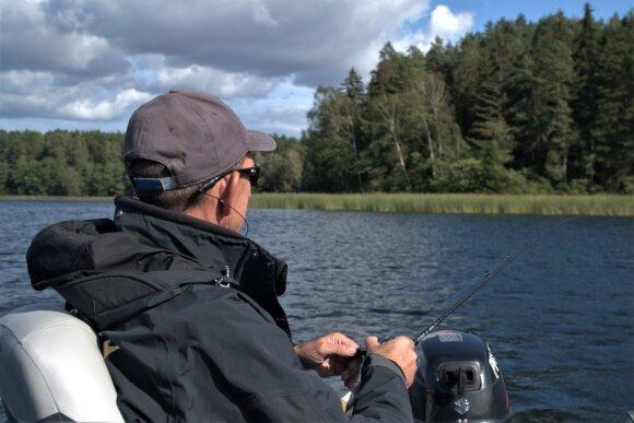 Lydekų spiningavimas ežeruose