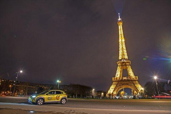 Vitoldas Milius su Hyundai Kona EV įveikė 6000 km