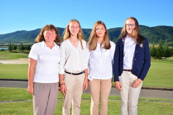 Lietuvos moterų golfo rinktinė
