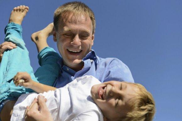 Kaip vyrui tapti geru tėčiu