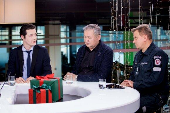 Dmitrijus Bialas, Artūras Pakėnas, Vytautas Grašys