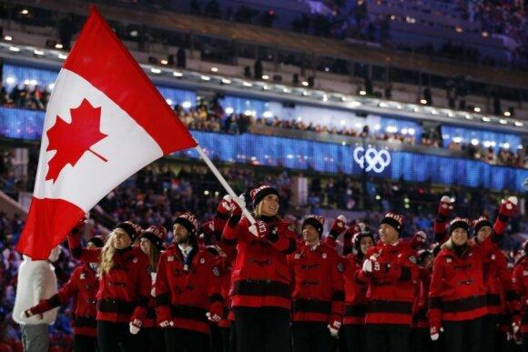Kanados sportininkai