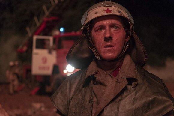 """Kadras iš serialo """"Černobylis"""""""
