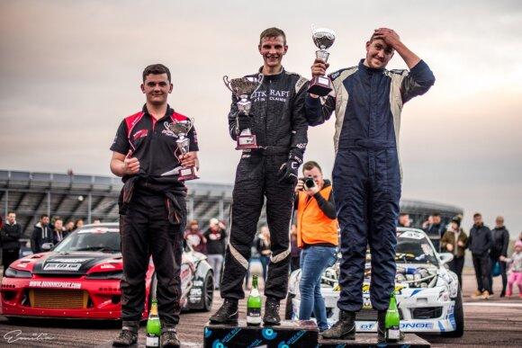 """Aurimas Vaškelis iškovojo bilietą į """"Formula Drift"""". Emilijos Paliulytės nuotr."""