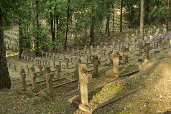 Антакальнисское кладбище. Фото Романа и Дарьи Нуриевых
