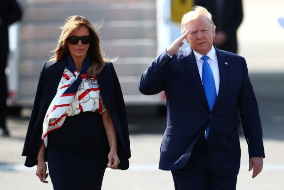 Melania Trump, Donaldas Trumpas