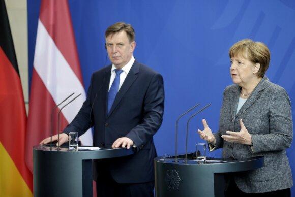 Angela Merkel, Marius Kučinskis