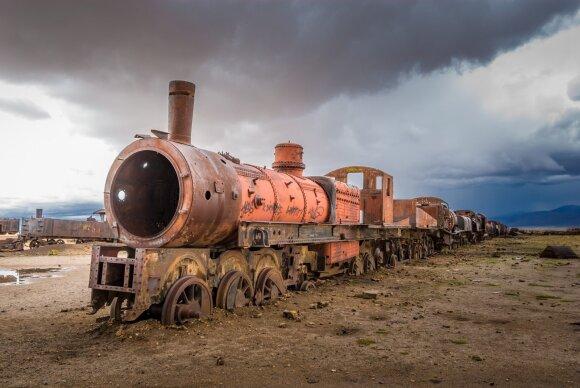 Traukinių kapinės
