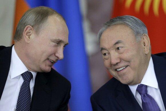 Vladimiras Putinas, Nursultanas Nazarbajevas